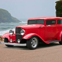 1932 Ford Sedan 1 Art Prints & Posters by Dave Koontz