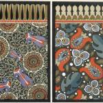 """Wallpaper design, c.1908 (pochoir print)"" by fineartmasters"