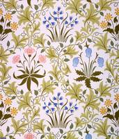 Celandine Wallpaper Design, late 1896 (colour wood