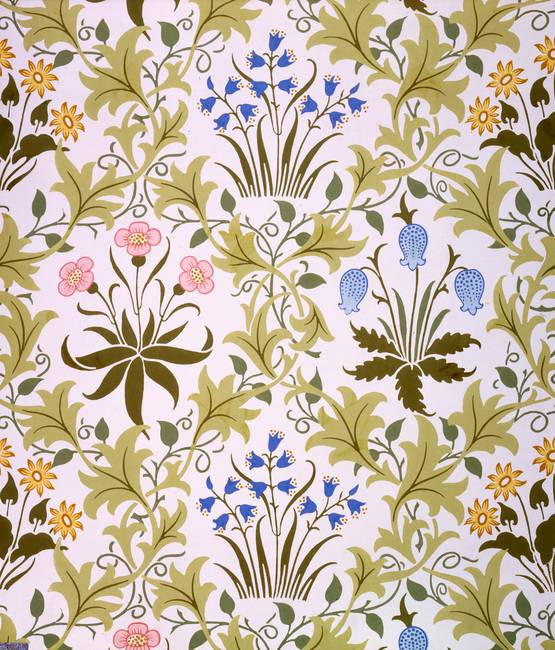 Stunning victorian wallpaper artwork for sale on fine - Late victorian wallpaper ...