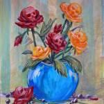 """Goth Bouquet Skull Roses by Nero Corvo Violano"" by stella"