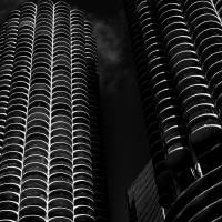 Marina City #2 Art Prints & Posters by James Howe