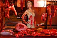 Paris Hilton The Butcher
