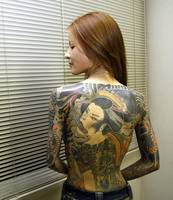 Wonderful body tattoo art