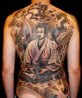 Amazing Japanese Tattoo Art