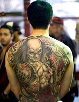 Japanese Tattoo Art on Back