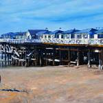 """Crystal Pier Pacific Beach by RD Riccoboni"" by BeaconArtWorksCorporation"