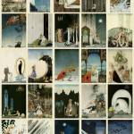 """Kay Nielsen: East of the Sun West of the Moon"" by animationarchive"