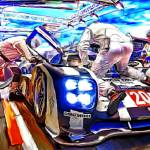 """Porsche 919 Hybrid at LeMans"" by ArtbySachse"