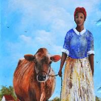 BULA -  Larry Kip Hayes  Folk Art - Southern Art Art Prints & Posters by Kip Hayes