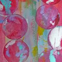 Pearl Globes Art Prints & Posters by Anna Borsos Ruzsan