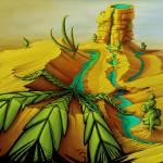 """""""Desert Oasis"""" by IndeArtStudio"""