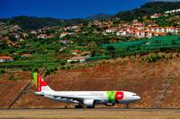 TAP A330-200, CS-TOG, TO Run From Madeira Airport