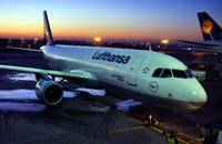 Lufthansa A320, D-AIQL, Pushback at Dawn