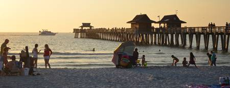 Naples Beach and Pier