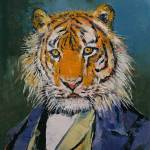 """Gentleman Tiger"" by creese"