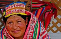 Bolivian Woman Portrait