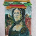 """Mona Lisa Burger"" by letspainttv"