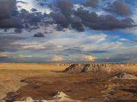 Monsoon Clouds Over the Painted Desert #2