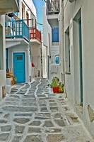 Alley Way in Mykonos