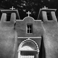 St. Francisco de Asis Church in Taos New Mexico Art Prints & Posters by Jim Crotty