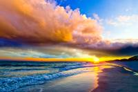 Colorful Landscape Colors of Heaven Sunset Sea