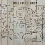 """""""ORL-2988-3 USA Map 1776-3"""" by Aneri"""