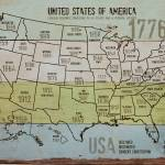 """""""ORL-2988-11 USA Map 1776-11"""" by Aneri"""