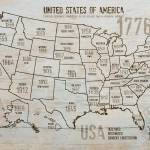 """""""ORL-2988-19 USA Map 1776-19"""" by Aneri"""