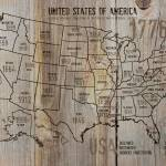 """""""ORL-2988-37 USA Map 1776-37"""" by Aneri"""