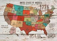 ORL-2989-1 The United States of America Map I