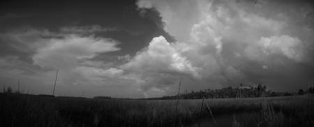 Panorama Of A Gathering Storm