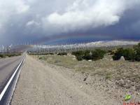 Rainbow and Wind Machines at Dillon Road