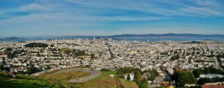 SAN FRANCISCO PANORAMIC VIEW OF THE CITY