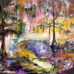 """Sunset Magic of the Okefenokee Georgia"" by GinetteCallaway"