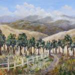 """20 X 30 Oil on Canvas California Foothills"" by StoneMeadowGallery"