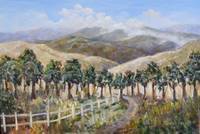 20 X 30 Oil on Canvas California Foothills