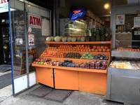 New York City Fruit Stand