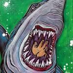 """""""Shark Kill Zone"""" by ArtPrints"""
