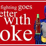 """Batman - Crimefighting goes better with Coke"" by Automotography"