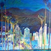 San Diego California Nights Art Prints & Posters by RD Riccoboni