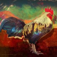 bantam portrait pop art Art Prints & Posters by r christopher vest