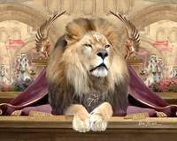 Lion of Judah Painting - King of Glory