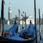 """Gondolas Across San Giorgio"" by DonnaCorless"