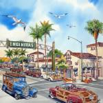 """Encinitas Woodies"" by WillyDaleArt"