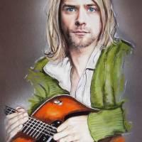 Kurt Cobain1 Art Prints & Posters by Melanie D