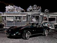 Corvette Stingray at Pal's Diner