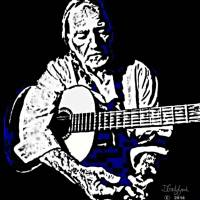 Willie Nelson Art Prints & Posters by Dave Gafford
