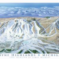 Boyne Highlands Michigan Art Prints & Posters by James Niehues