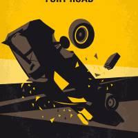 No051 My Mad Max 4 Fury Road minimal movie poster Art Prints & Posters by Chungkong Art